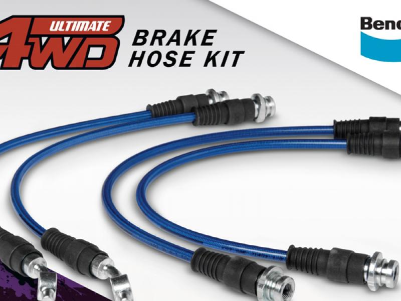 Bendix promotes the advantages of braided brake hoses for 4WD vehicles