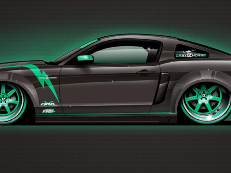 CRC Speedshow to build record-breaking electric Mustang