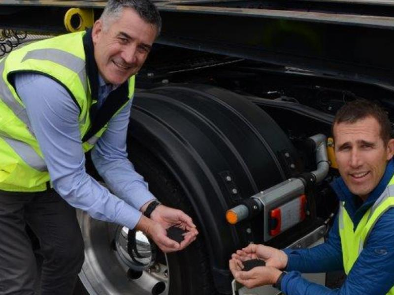 Leading companies collaborate to launch recycled plastic truck mudguards