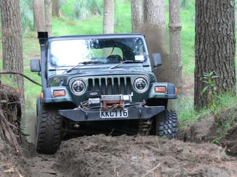 What's special for 4WD servicing?