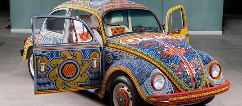 Volkswagen celebrates five colourful art cars