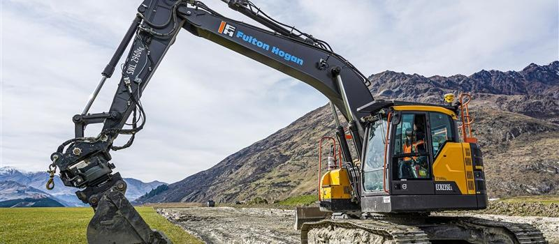 Volvo's E-Series excavators are the complete package